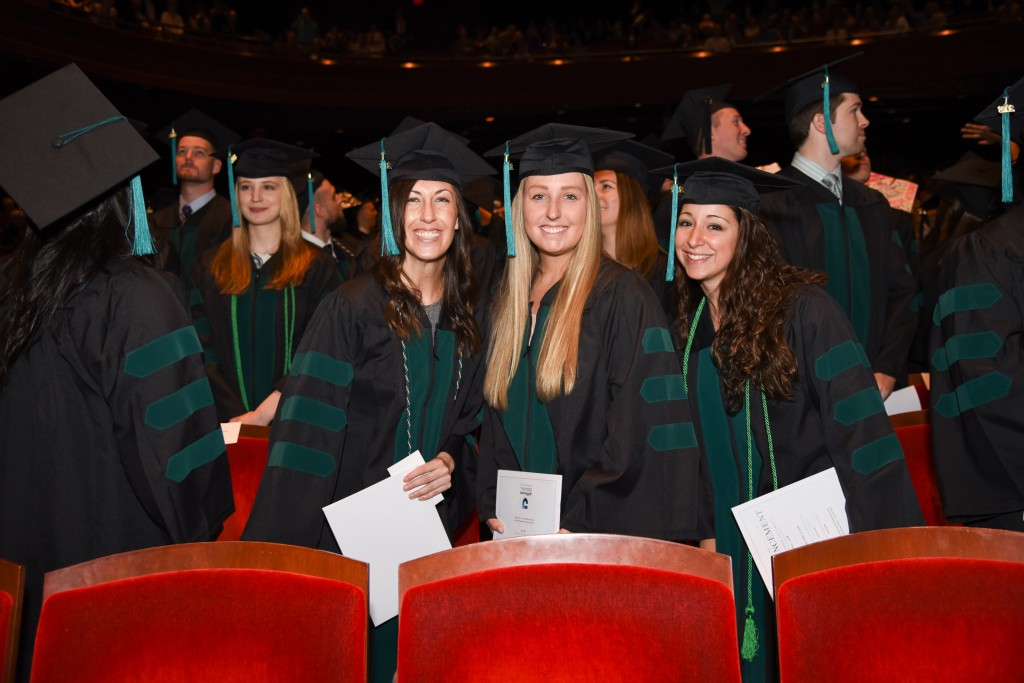 Some 1,350 students received their degrees over two days in the Kimmel Center for the Performing Arts.