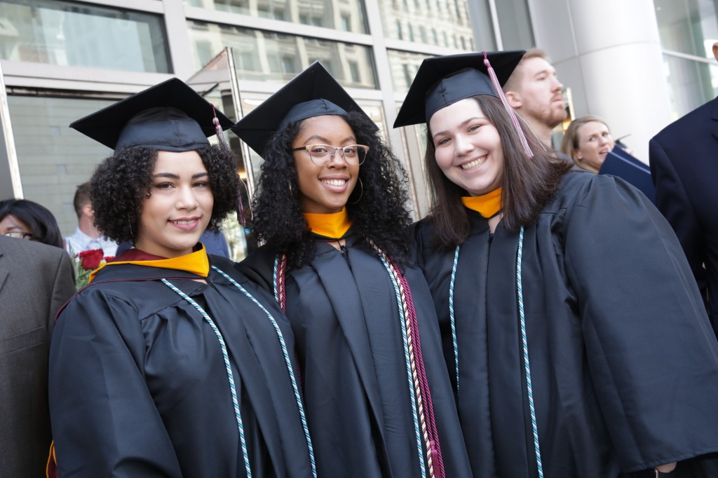 Some 1,000 students from East Falls Campus received their degrees on May 9.