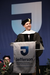 Jamie Siminoff, CEO of Ring, urged graduates to not follow the crowd.