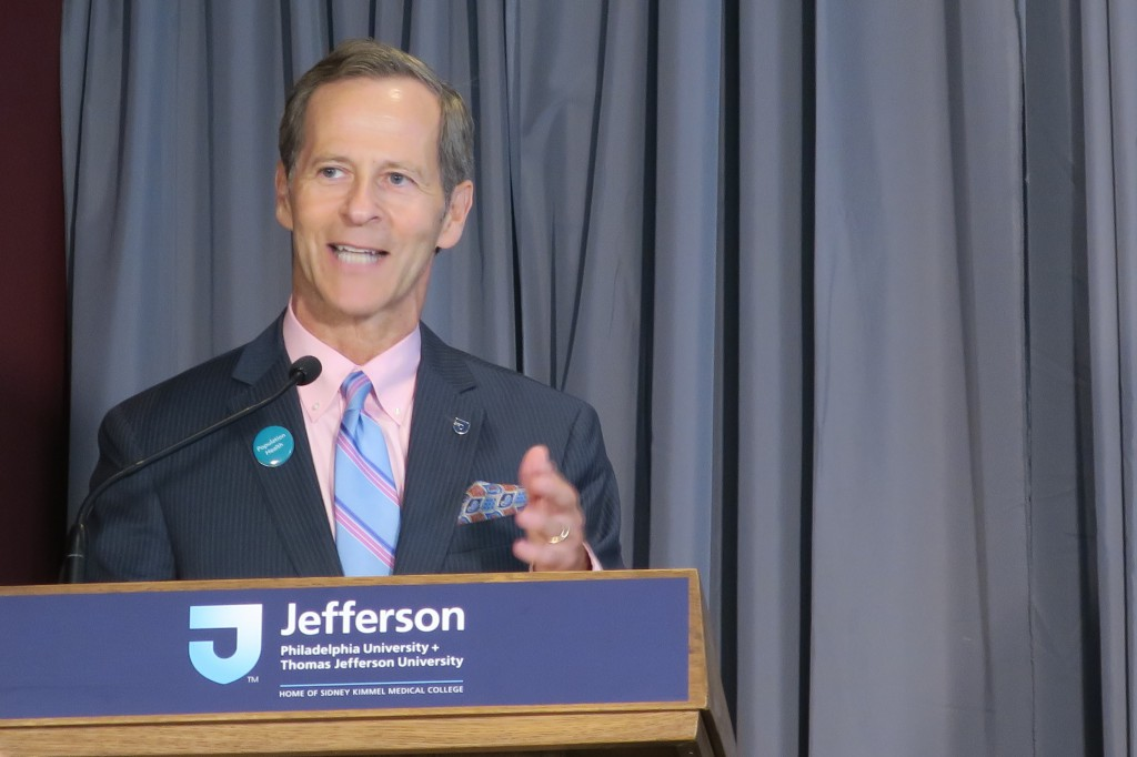 """Establishing an endowed professorship devoted to the health and wellbeing of whole communities is an invaluable investment in humanity,"" said David B. Nash, MD, MBA, dean of Jefferson College of Population Health."