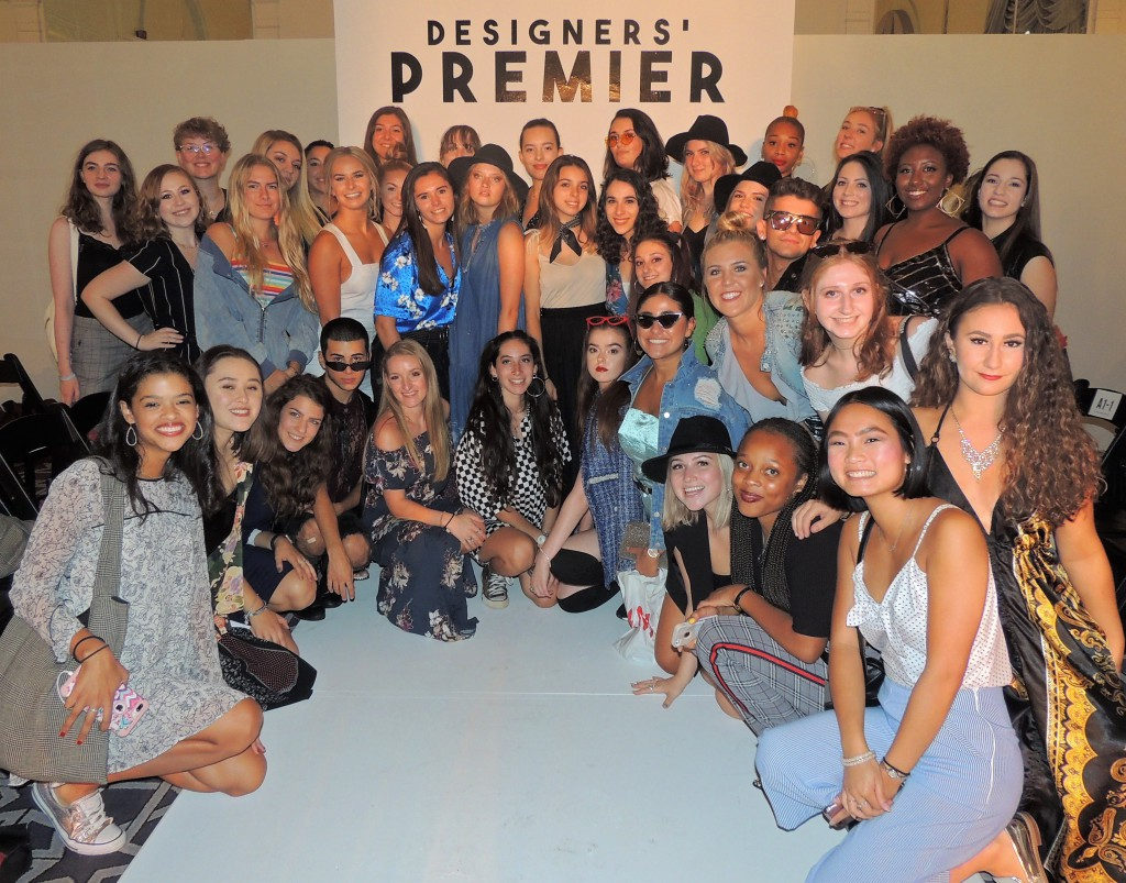 Fashion design and fashion merchandising and management sophomores attended the show as part of Jefferson's New York Immersion course.