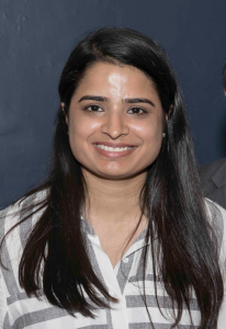 Accounting senior Sonia Saini received a $1,000 scholarship from Delta Mu Delta.