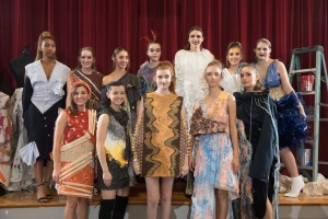 Fashion design students had just a few weeks and $20 to complete their looks.
