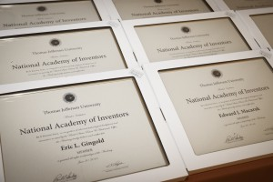 The event will recognize all inventors and induct new members into the Jefferson Chapter of the National Academy of Inventors.