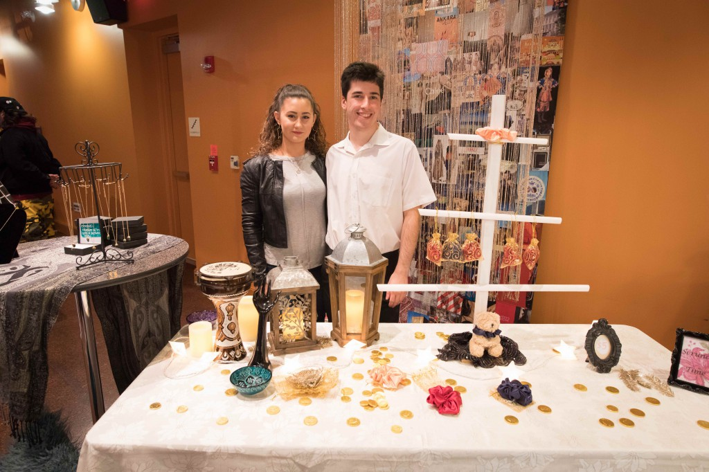 "The event revolved around the theme ""World of Wonders"" with students creating table displays inspired by international locations. This setup had the vibe of a Turkish grand bazaar."