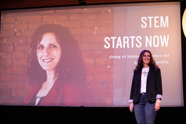 Jefferson student Aimee Ketchum first place at a recent social enterprise pitch challenge for STEM Starts Now.